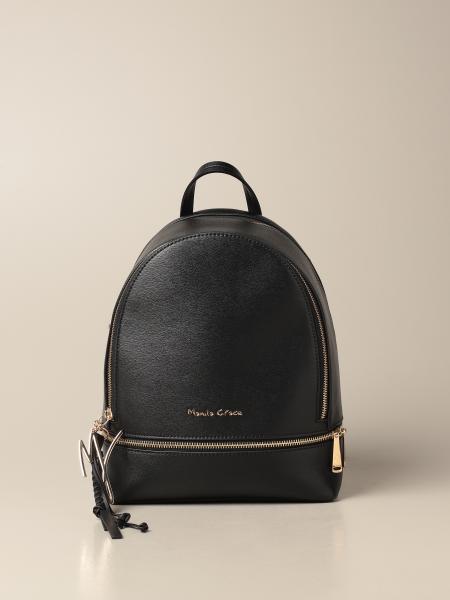 Manila Grace women: Manila Grace backpack in synthetic leather