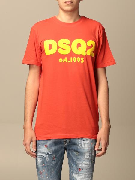 Dsquared2 cotton T-shirt with DSQ2 logo