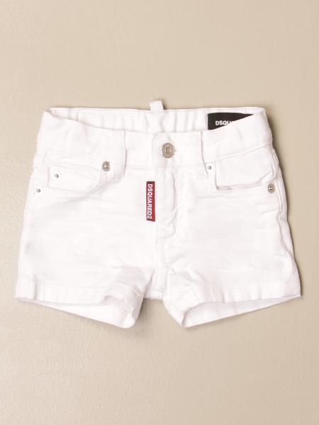 Pantaloncino di jeans Dsquared2 Junior