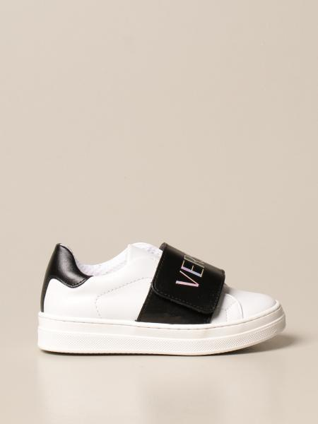 Young Versace: Sneakers Versace Young in pelle