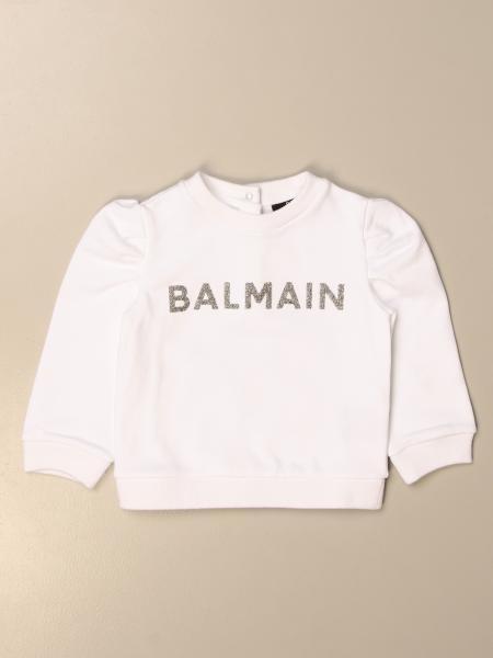 Balmain crewneck sweatshirt with logo