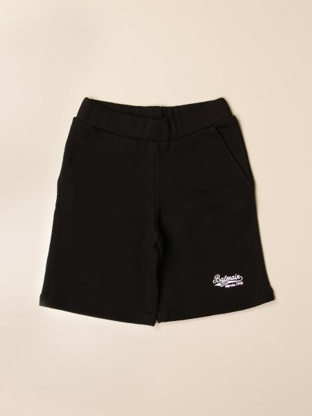 Pantaloncino jogging Balmain con logo