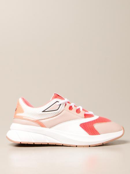 Paciotti 4Us: Sneakers Paciotti 4US in pelle e rete