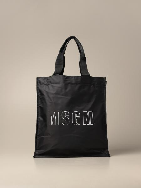 Msgm: Msgm nylon handbag