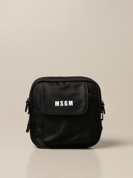 Msgm: Msgm nylon crossbody bags