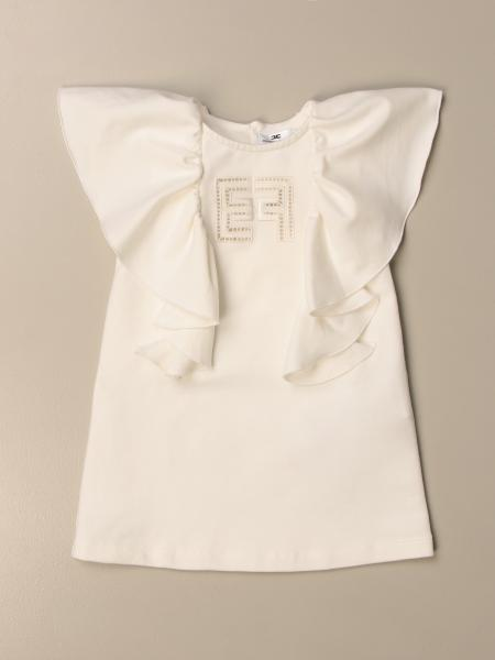 Elisabetta Franchi dress with maxi ruffles