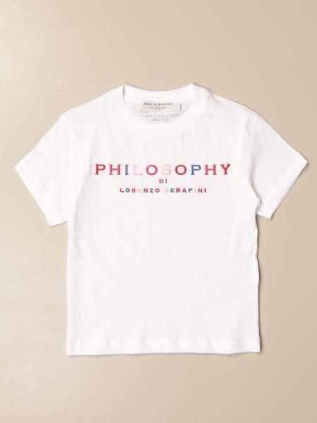 Philosophy Di Lorenzo Serafini cotton t-shirt with logo