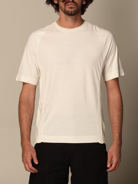 Transit: Transit T-shirt in cotton and linen