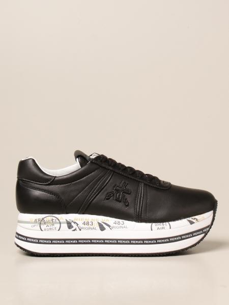 Premiata donna: Sneakers Beth Premiata in pelle con logo