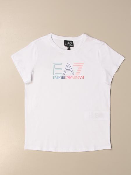 Emporio Armani: Emporio Armani T-shirt with multicolor logo