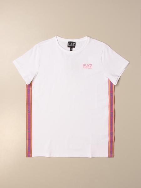 T-shirt Emporio Armani con bande a righe