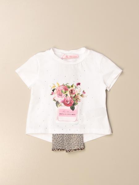 T-shirt Miss Blumarine con dettaglio animalier