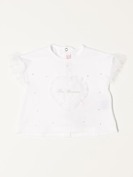 T-shirt Miss Blumarine con strass