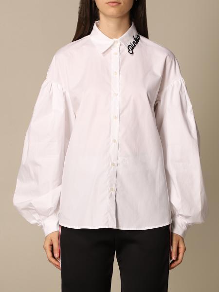 Pinko women: Pinko over shirt with logo