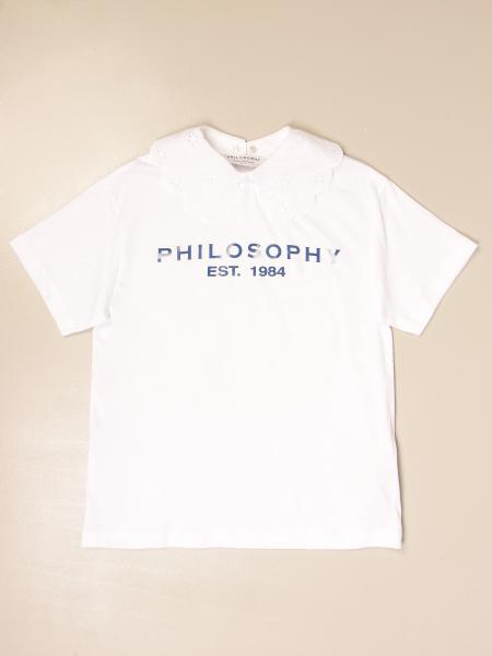 Philosophy di Lorenzo Serafini T-shirt with collar