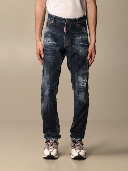 Dsquared2 jeans with maxi breaks
