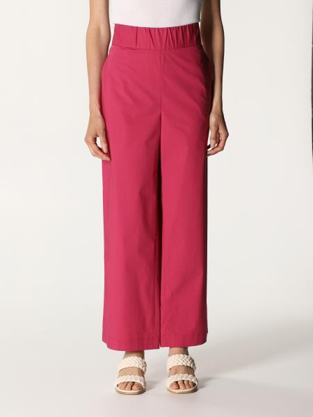 Fay women: Fay wide cotton pants