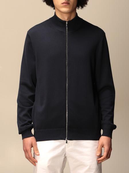 Malo: Cardigan con zip Malo in cotone