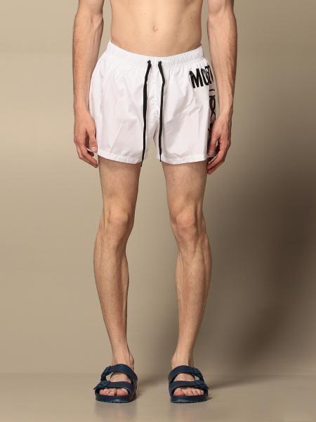 Costume a boxer Moschino Underwear con big logo
