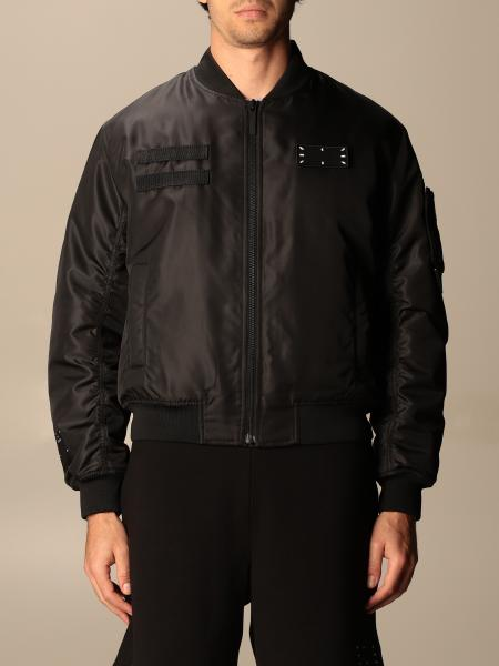 Mcq: Bomber di nylon con zip Ic-0 by McQ