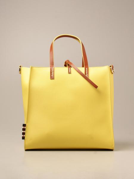 Manila Grace women: Felicia Manila Grace handbag in synthetic saffiano leather