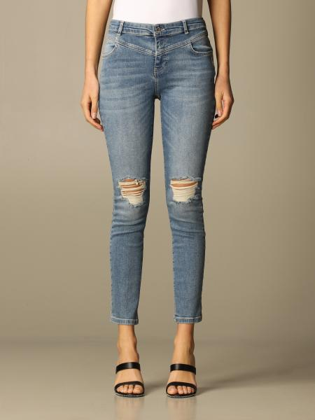 Jeans damen Twin Set Actitude