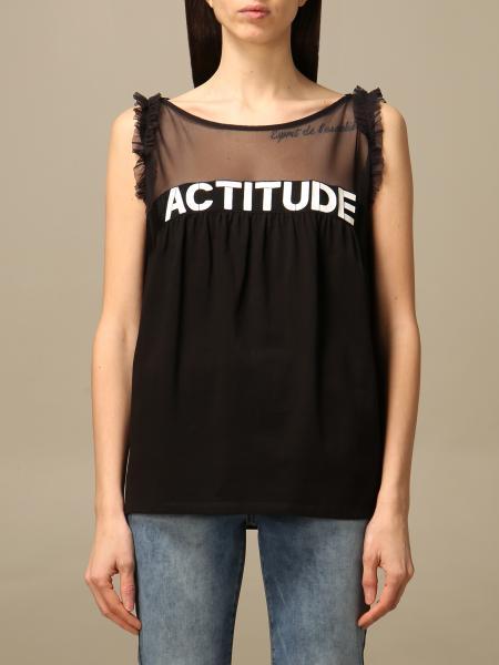 Twin Set Actitude: Twin-set Actitude top with logo