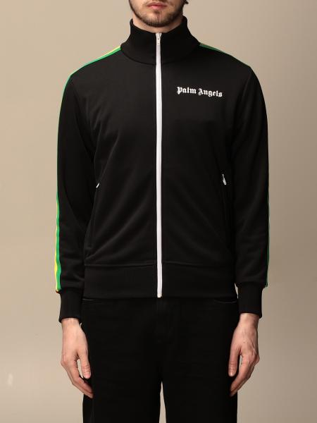 Palm Angels logo zip sweatshirt