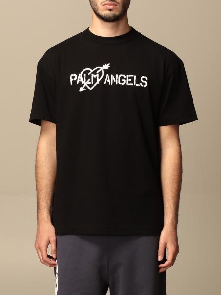 Palm Angels: Palm Angels logo T-shirt