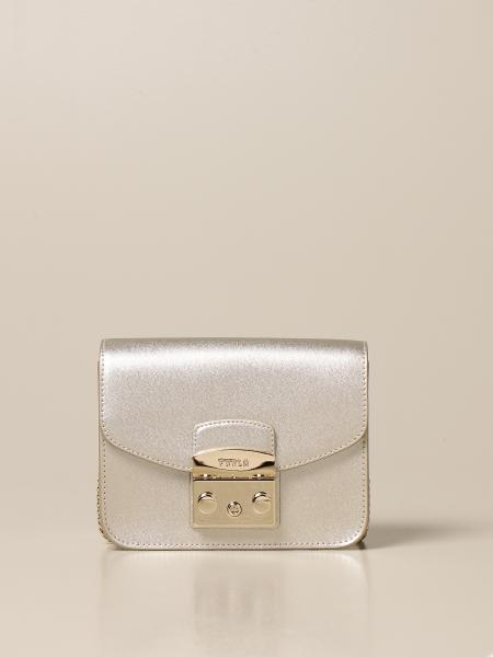 Furla: Metropolis Furla bag in laminated leather