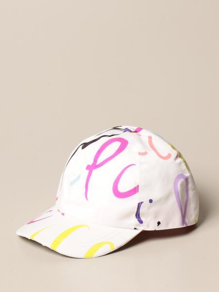 Emilio Pucci: Cappello da basebaall Emilio Pucci con big logo colorato