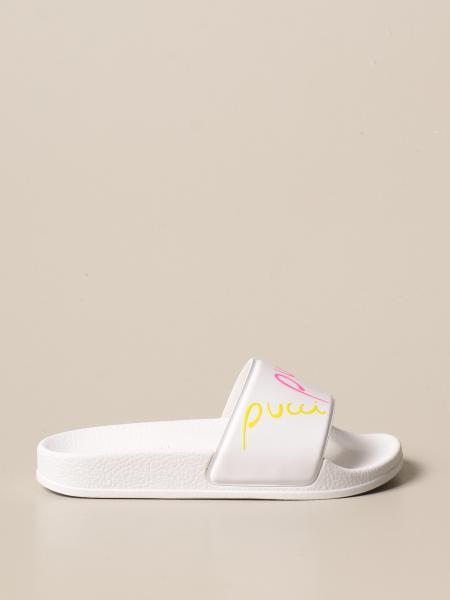 Emilio Pucci: Sandalo a ciabatta Emilio Pucci con logo