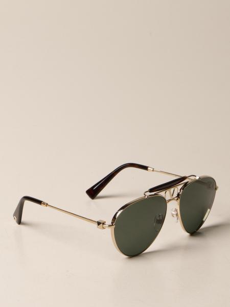 Valentino metal sunglasses with VLogo