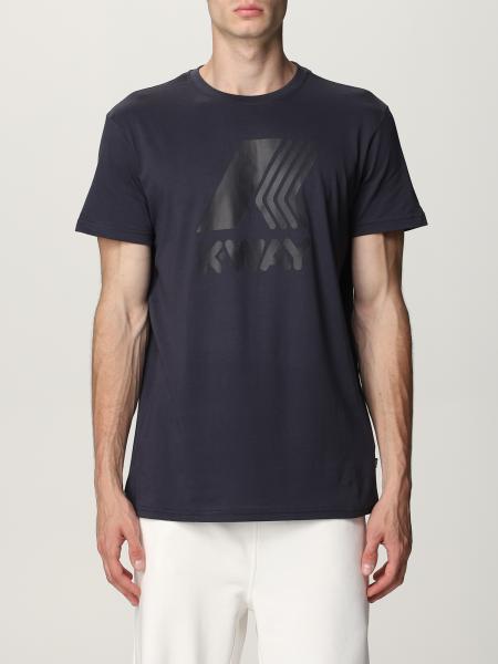 K-way cotton t-shirt with logo
