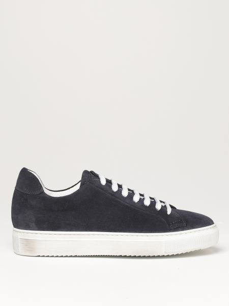 Sneakers Doucal's in camoscio