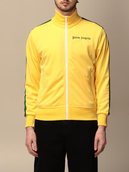 Palm Angels: Palm Angels logo zip sweatshirt