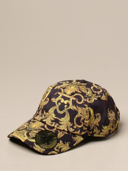 Cappello da baseball Versace Jeans Couture a fantasia barocca