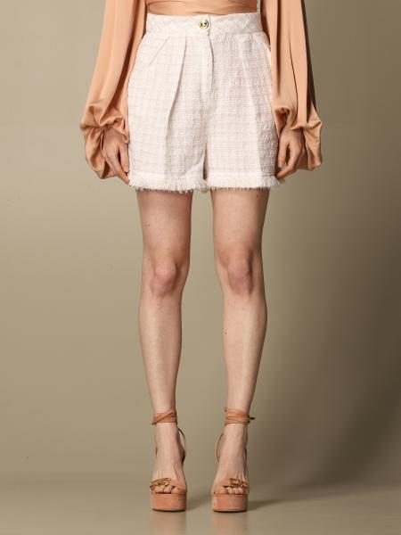 Elisabetta Franchi shorts in tweed