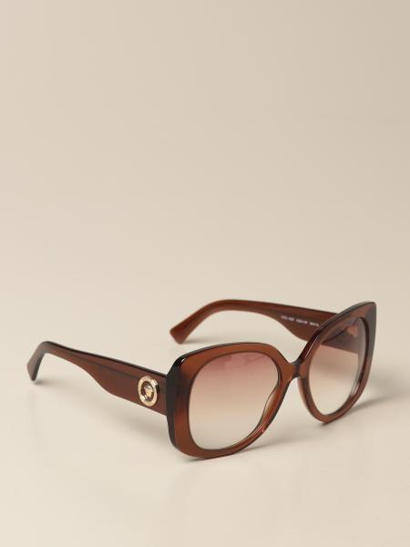 Versace women: Versace sunglasses in acetate with a medusa head