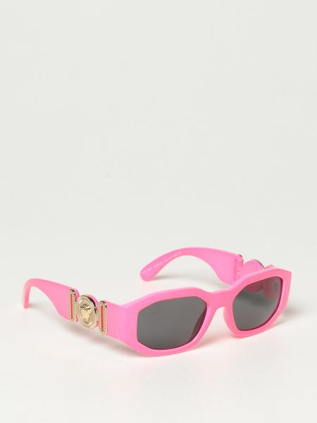 Versace sunglasses in acetate with a medusa head