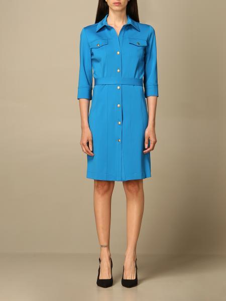 Pinko women: Pinko shirt dress with buttons