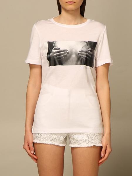 Patrizia Pepe women: Patrizia Pepe T-shirt with print