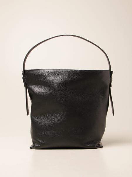 Patrizia Pepe women: Patrizia Pepe shoulder bag in hammered leather