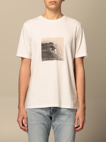 Saint Laurent men: Saint Laurent T-shirt with surfer print