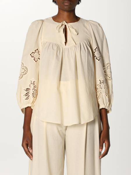 See By Chloé: Camicia See By Chloé in cotone con ricami
