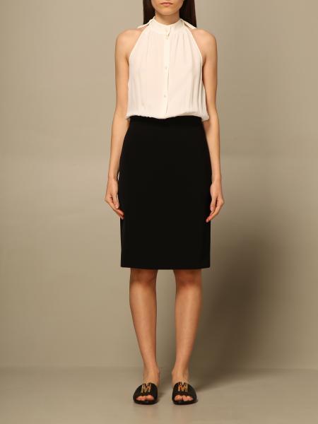 Boutique Moschino: Boutique Moschino dress with shirt
