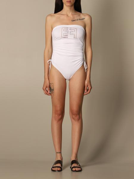 Elisabetta Franchi donna: Costume intero Elisabetta Franchi con logo
