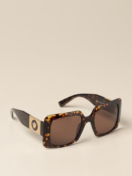 Versace 醋酸纤维太阳镜,带美杜莎头装饰