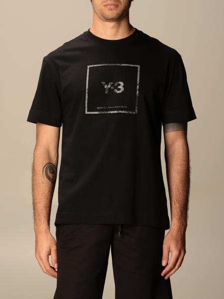 Y-3: Футболка Мужское Y-3