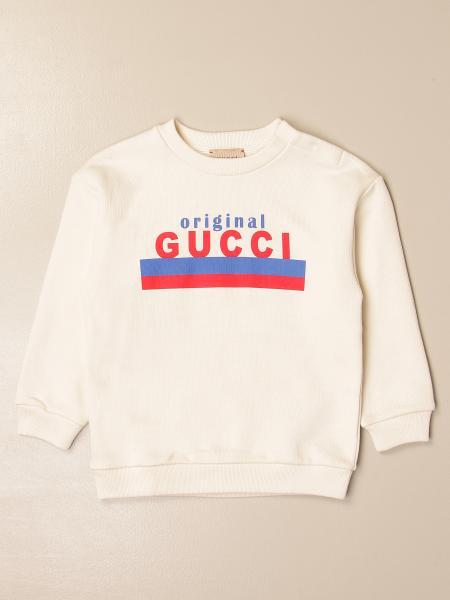Gucci crewneck sweatshirt in cotton with Original logo